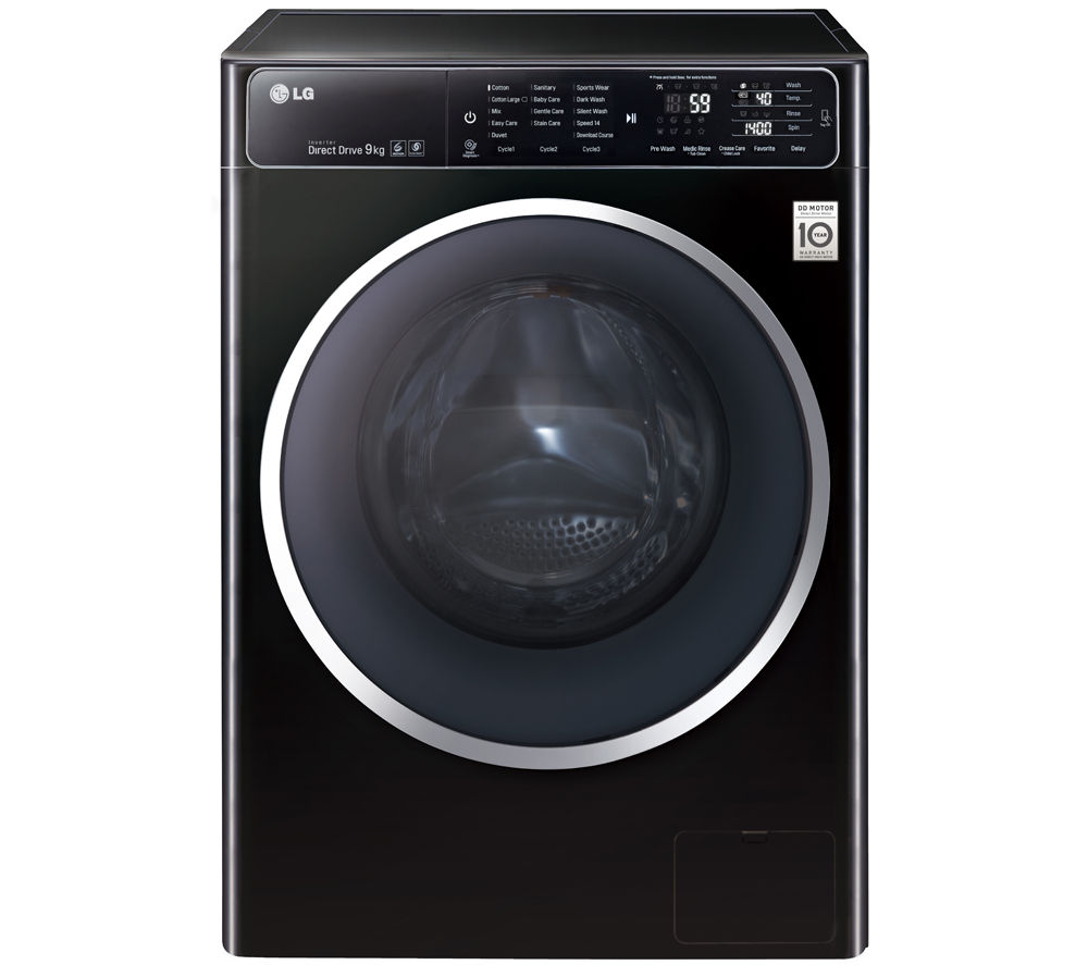 lg washing machine shopping
