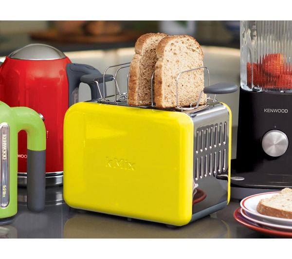 buy kenwood kmix ttm020yw 2 slice toaster yellow free delivery currys. Black Bedroom Furniture Sets. Home Design Ideas