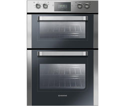 HOOVER HDO906X Electric Double Oven - Stainless steel