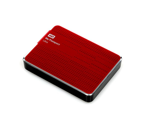 wd my passport ultra exclusive portable hard drive 2 tb red deals pc world. Black Bedroom Furniture Sets. Home Design Ideas