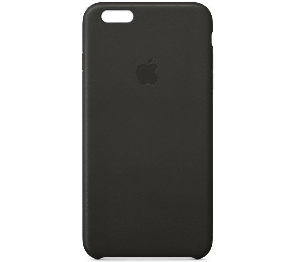 APPLE Leather iPhone 6 Plus Case - Black