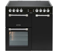 LEISURE Cookmaster CK90C230K Electric Ceramic Range Cooker - Black