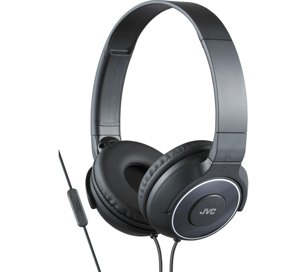 Click to view more of JVC  HA-SR225-B-E Headphones - Black, Black