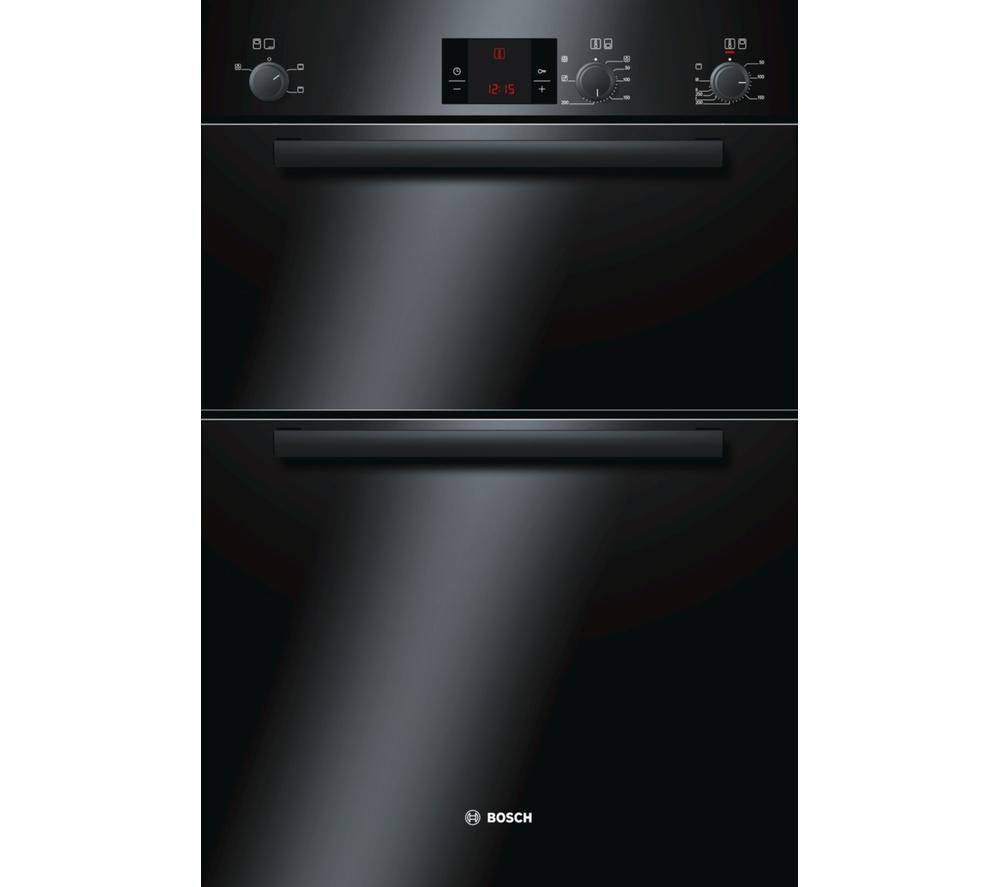 Oven Liners For Electric Ovens ~ Buy bosch hbm b electric double oven black free