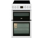 BEKO Select BDVC5XNTW 50 cm Electric Ceramic Cooker - White