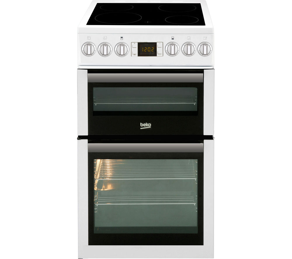 BEKO Select BDVC5XNTW 50 cm Electric Ceramic Cooker - White