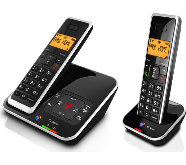 buy bt xenon 1500 cordless phone with answering machine. Black Bedroom Furniture Sets. Home Design Ideas