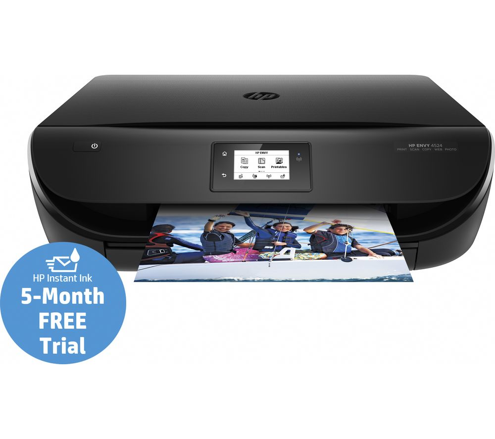 HP ENVY 4524 All-in-One Wireless Inkjet Printer