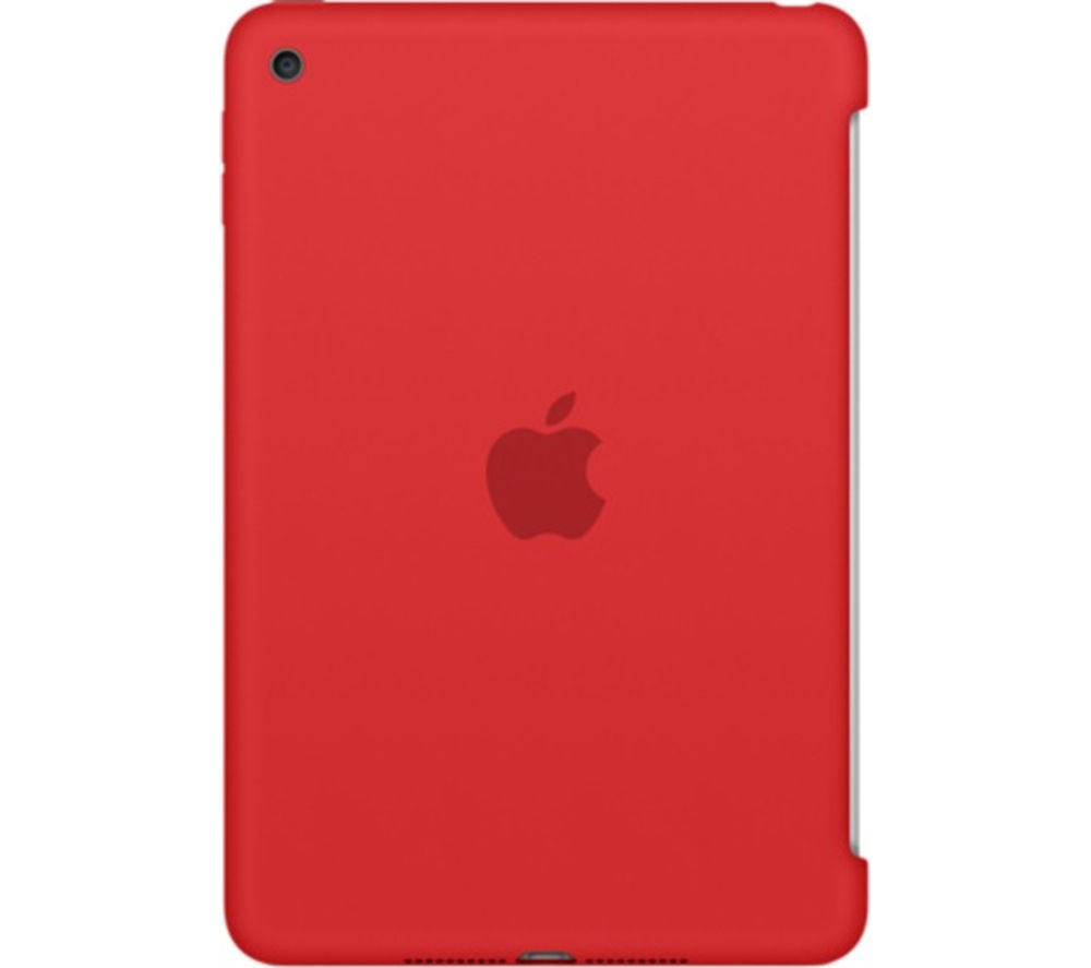 Image of Apple Silicone iPad Mini 4 Cover - Red