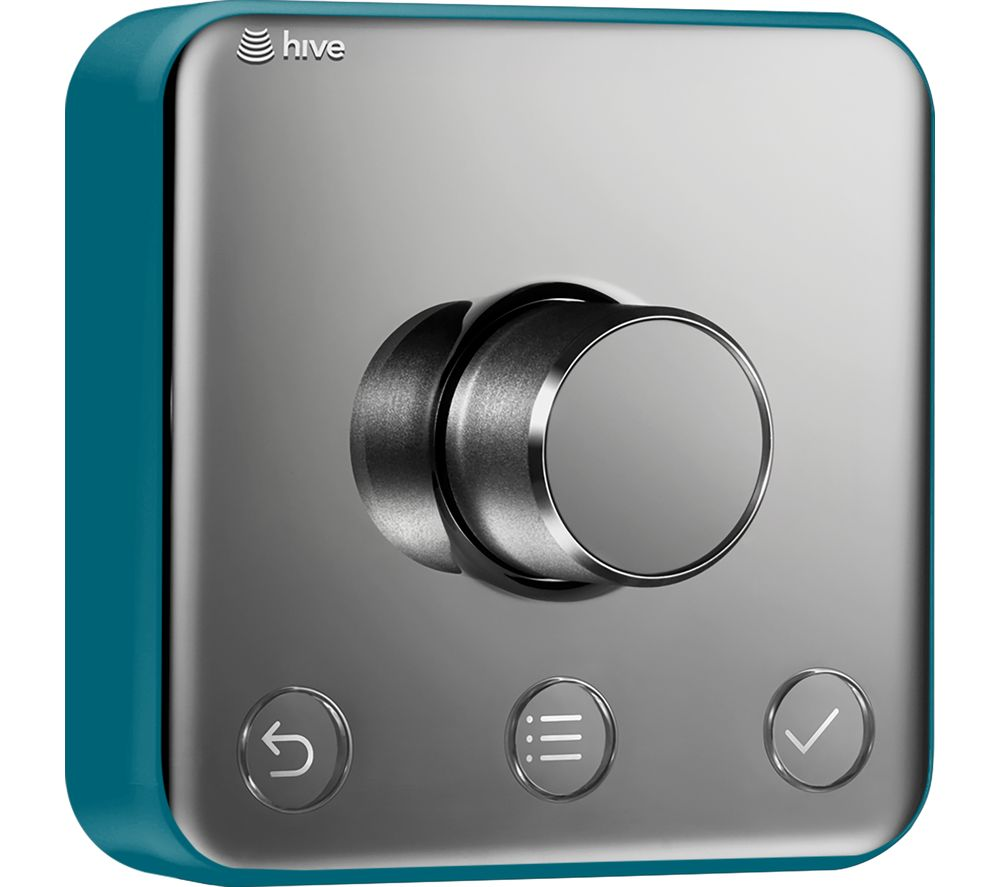 Image of HIVE Active Thermostat Frame Cover - Teal Tension, Teal