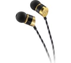 HOUSE OF MARLEY Uplift V2 Headphones - Black & Gold