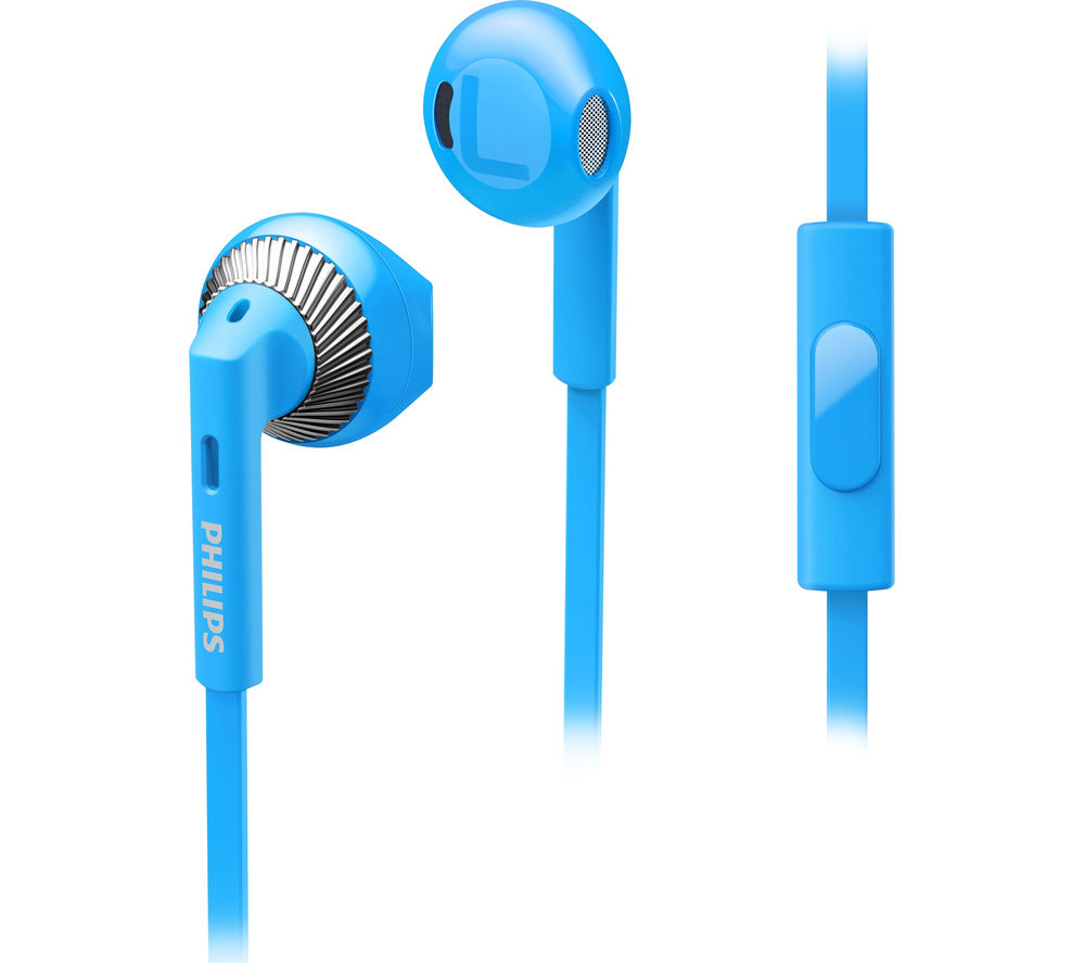 Click to view more of PHILIPS  SHE3205BL/00 Headphones - Blue, Blue