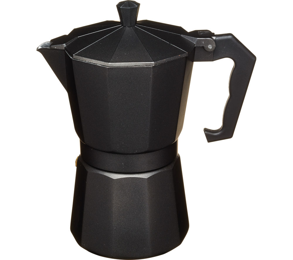 Image of LE'XPRESS Italian Style DSGLX6CUPBLK Espresso Coffee Maker - Black, Black