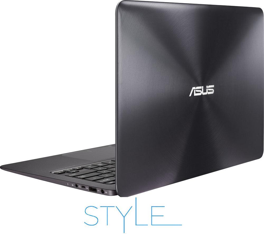 "Image of Asus Intel Zenbook UX305 13.3"" Laptop - Black"