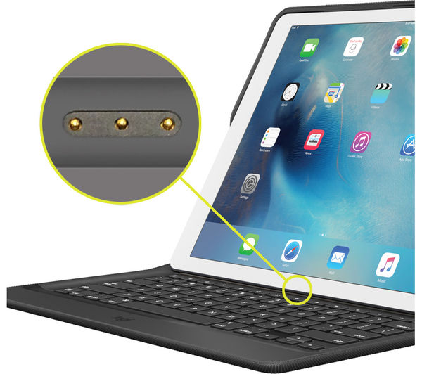 """New 2017 For iPad Pro 12.9"""" Magnetically Detachable ABS"""