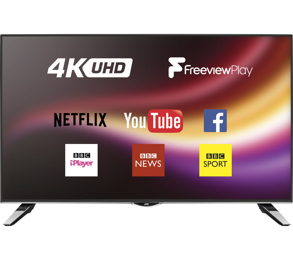 "49"" Jvc LT-49C860 Smart 4K Ultra HD  LED TV"