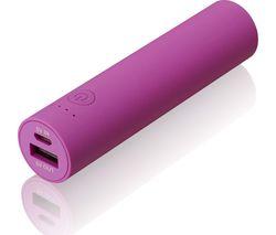 GOJI G6PB3PK16 Portable Power Bank - Pink