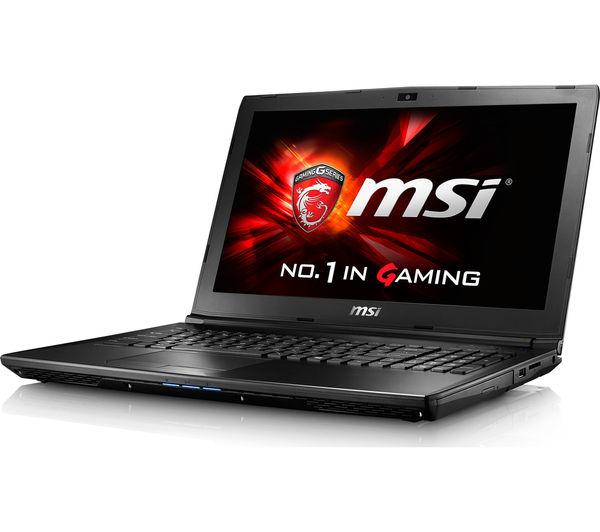 """Image of MSI GL62 6QD 15.6"""" Gaming Laptop - Black"""