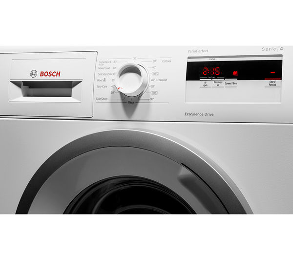 buy bosch serie 4 wan28080gb washing machine white free delivery currys. Black Bedroom Furniture Sets. Home Design Ideas