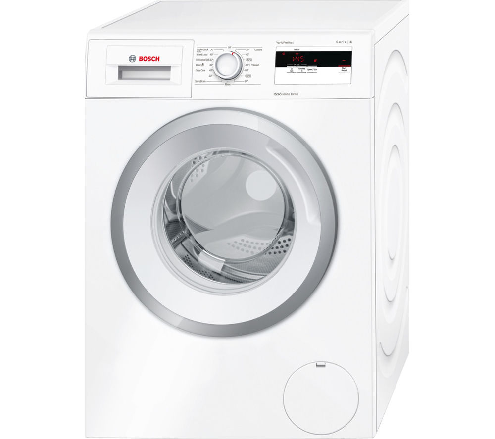 BOSCH  Serie 4 WAN28080GB Washing Machine  White White