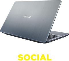 "ASUS X541SA 15.6"" Laptop - Silver"