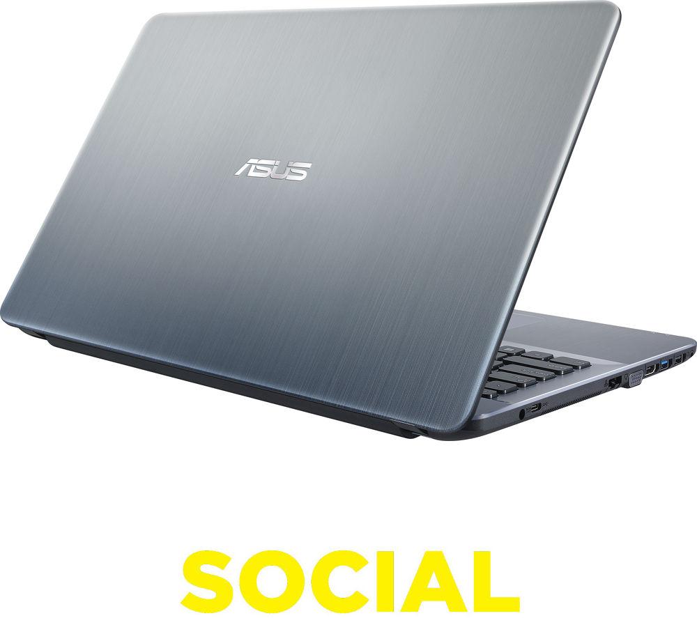"Image of Asus X541SA 15.6"" Laptop - Black"