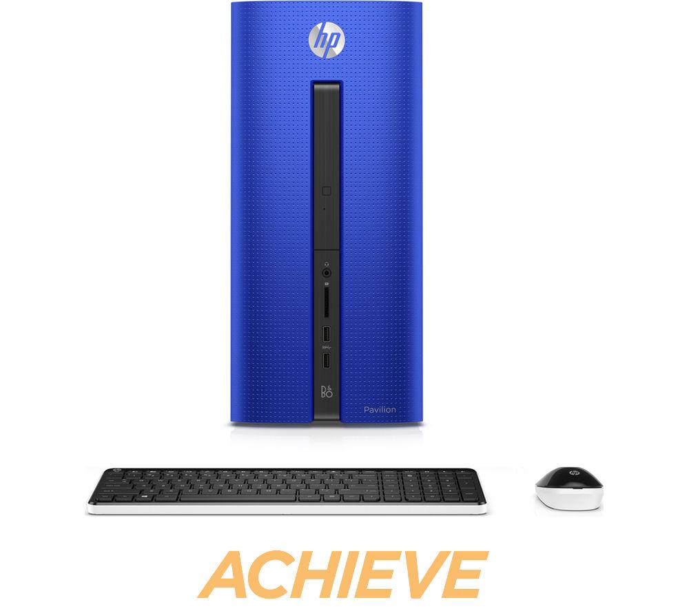 HP Pavilion 550201na Desktop PC  Blue