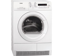 AEG T76280AC Condenser Tumble Dryer - White
