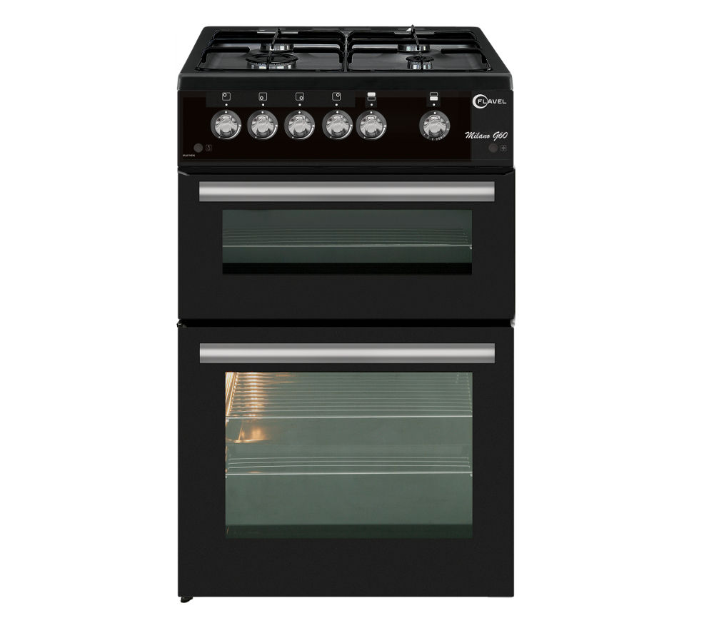 FLAVEL ML61NDK Gas Cooker - Black