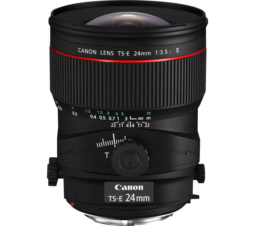 CANON TS-E 24 mm f/3.5 L II Tilt-shift Lens