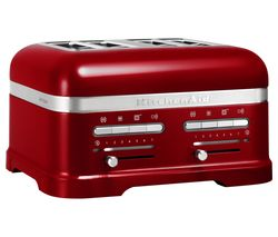 KITCHENAID Artisan 5KMT4205BCA 4-Slice Toaster - Red