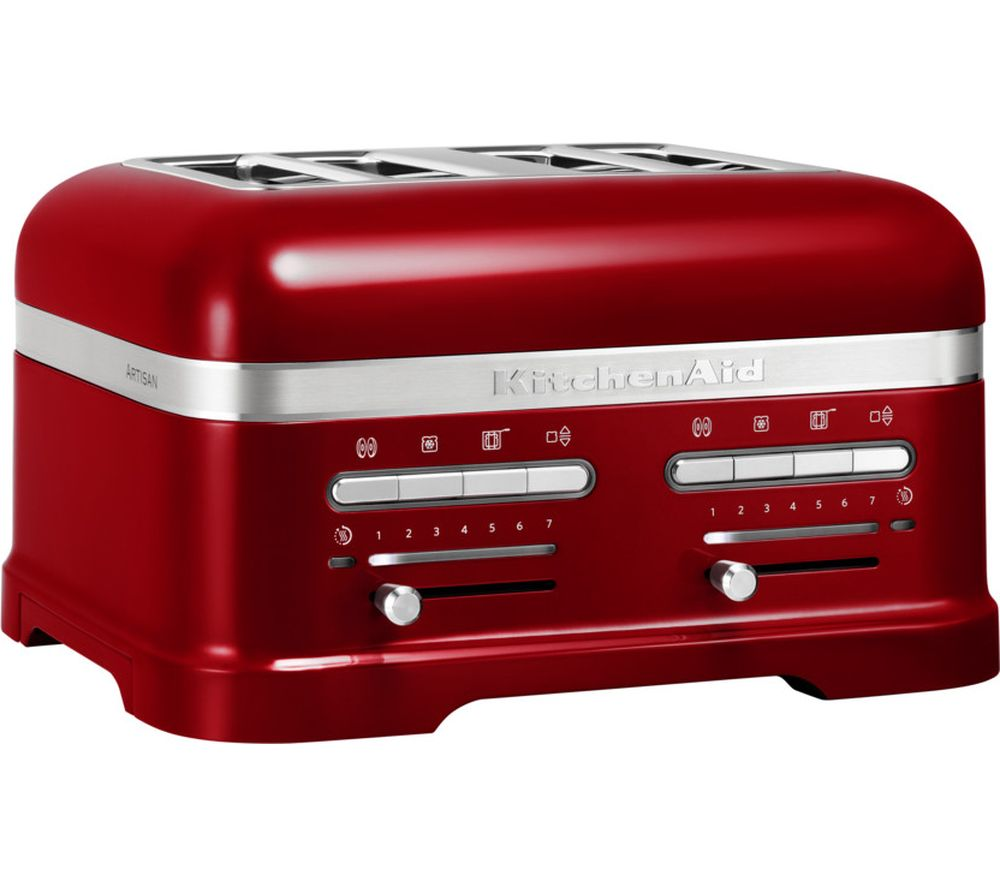 KITCHENAID  Artisan 5KMT4205BCA 4Slice Toaster  Red Red