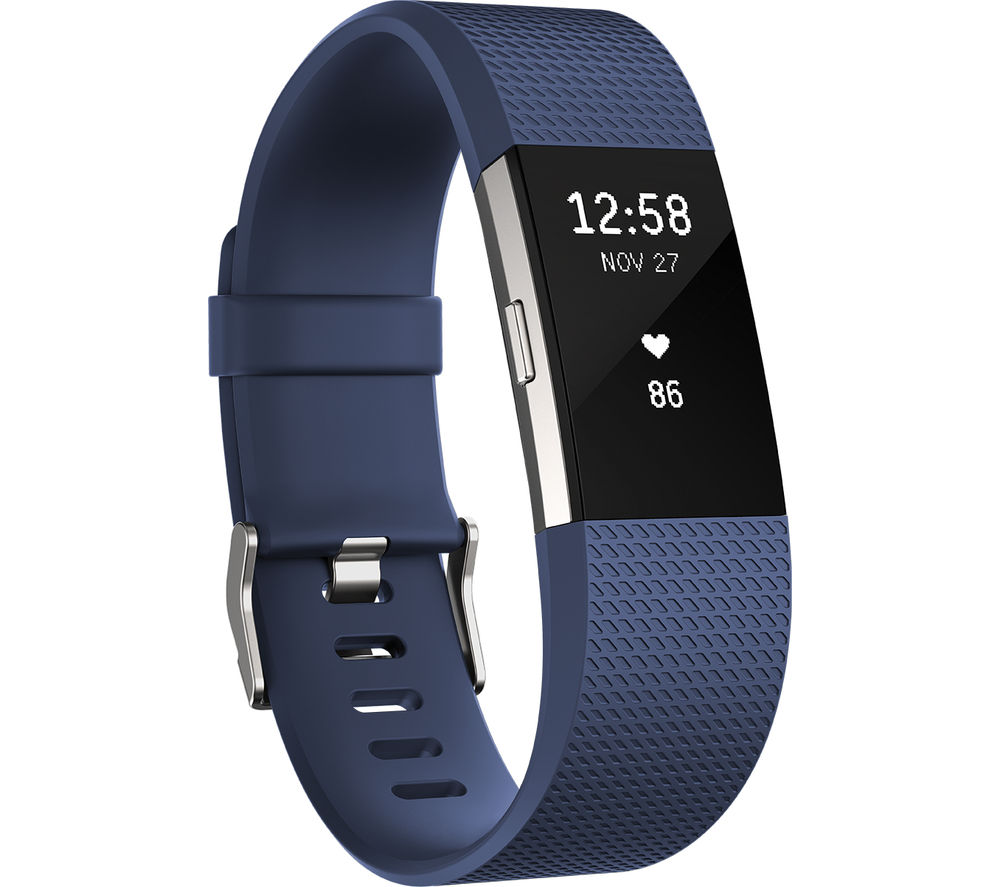 Buy Fitbit Charge 2 Blue Large Free Delivery Currys