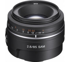 SONY 85 mm f/2.8 SAM Telephoto Prime Lens