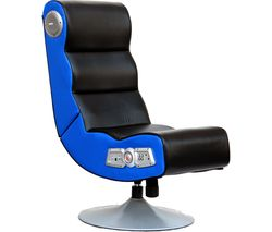 X ROCKER Orion Wireless Gaming Chair - Black & Blue