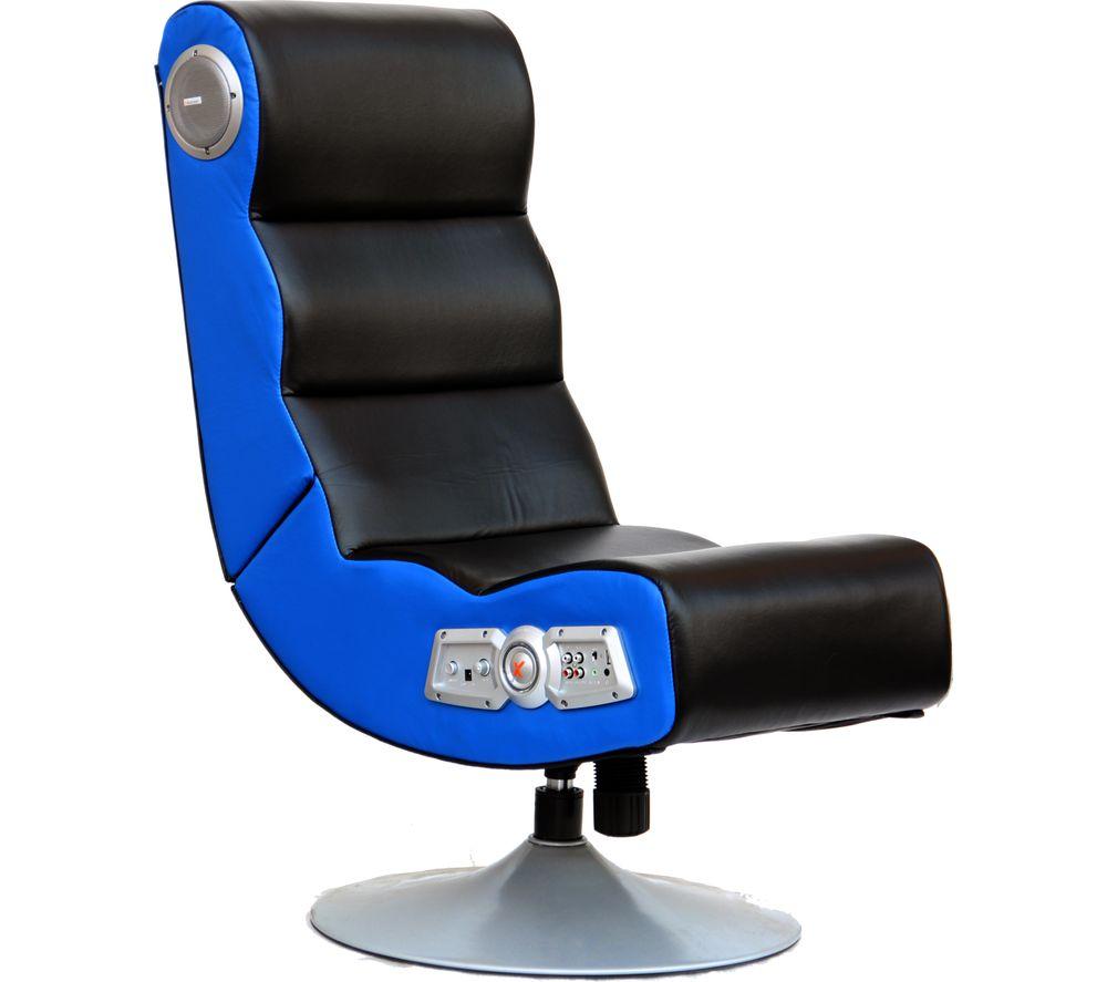 X ROCKER Orion Wireless Gaming Chair Black & Blue Deals