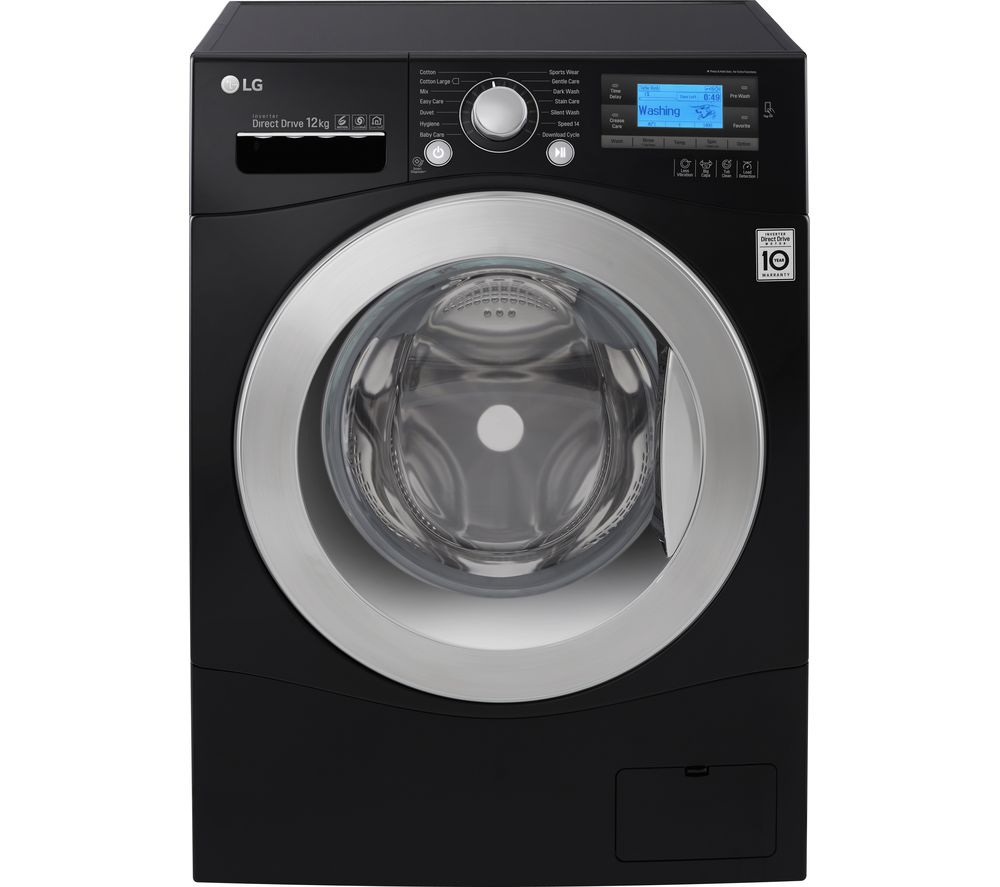 LG  FH495BDN8 Smart Washing Machine  Black Black