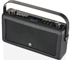 VQ Hepburn Mk II Portable DAB+/FM Bluetooth Clock Radio - Black
