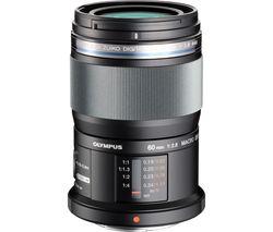 OLYMPUS M.ZUIKO DIGITAL ED 60 mm f/2.8 Standard Prime Macro Lens