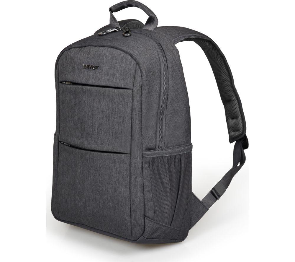 """PORT DESIGNS Sydney 15.6"""" Laptop Backpack - Grey"""