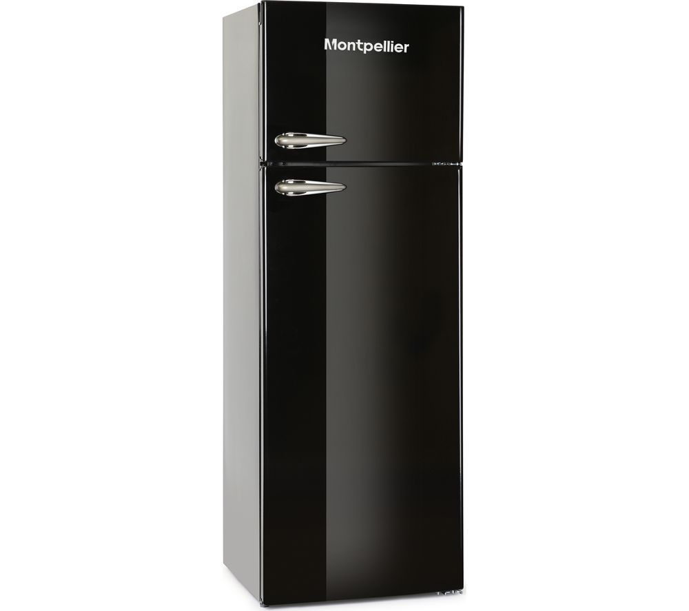 MONTPELLIER MAB345K Fridge Freezer - Black