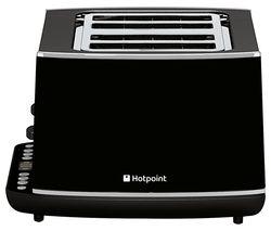 HOTPOINT TT 44E AB0 4-Slice Toaster - Black