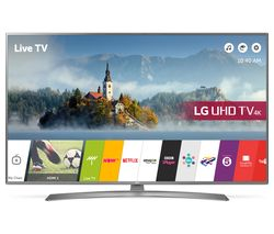 "LG 49UJ670V 49"" Smart 4K Ultra HD HDR LED TV"