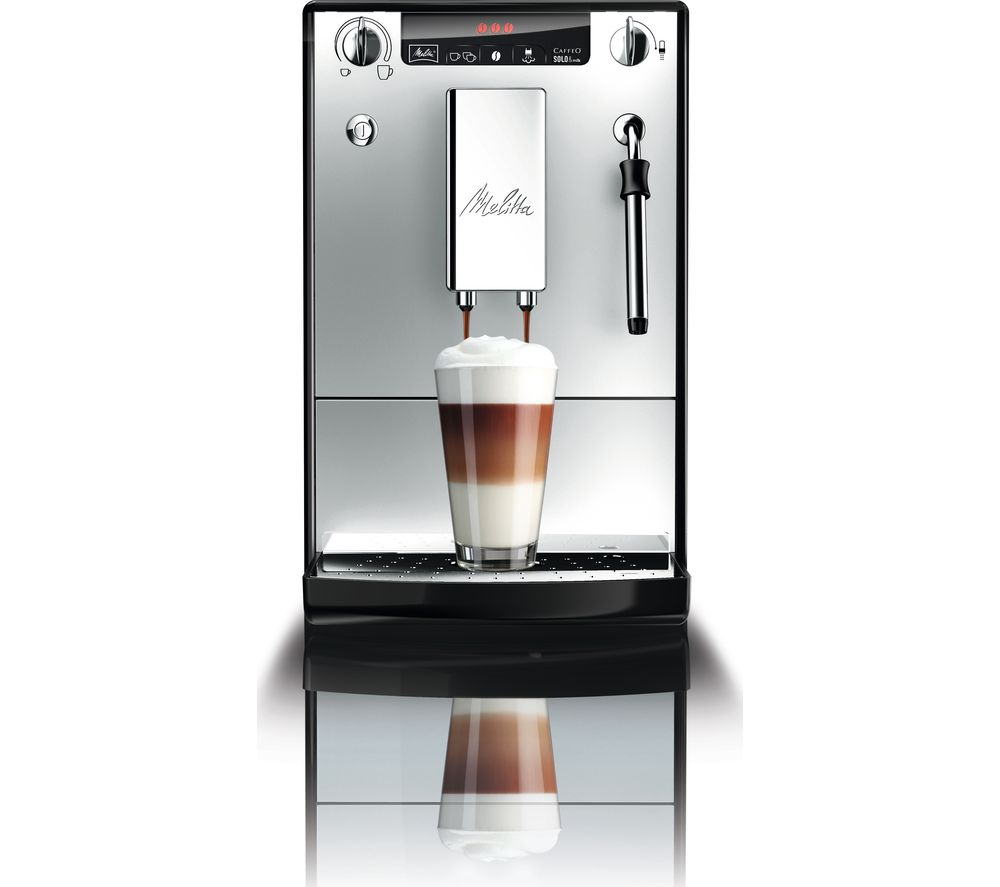 buy melitta caffeo solo milk e953 102 bean to cup coffee machine silver free delivery currys. Black Bedroom Furniture Sets. Home Design Ideas