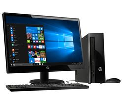 "HP 260-a104na Desktop PC & 22KD Full HD 21.5"" LED Monitor"