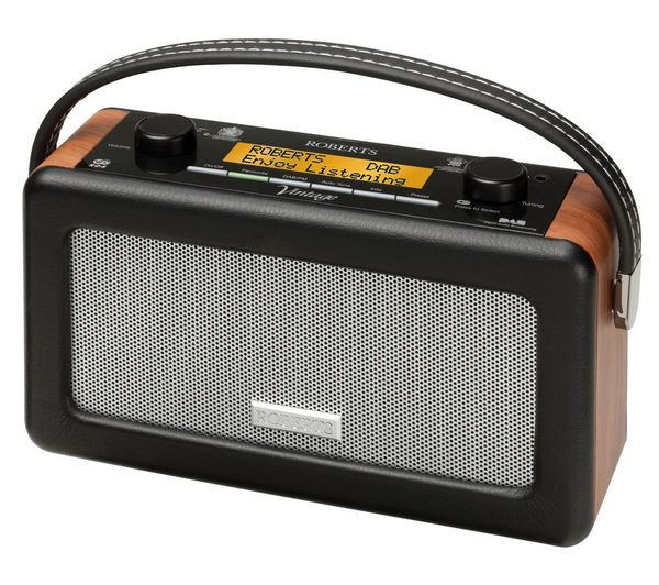 Roberts Vintage DAB/FM RDS Radio - Black