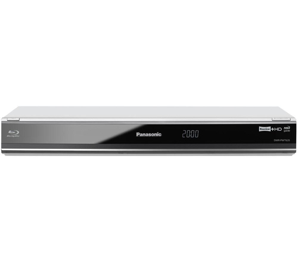 PANASONIC DMR-PWT635 Smart 3D Blu-ray Player with Freeview+ HD Recorder - 1 TB HDD