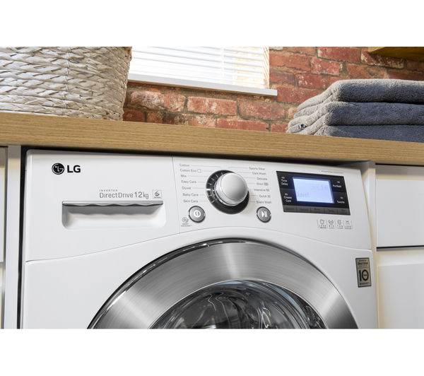 Lg Tumble Dryer Black ~ Buy lg f bda washing machine white rc bp z heat