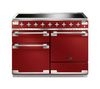 RANGEMASTER Elise 110 Electric Induction Range Cooker - Cherry Red & Chrome