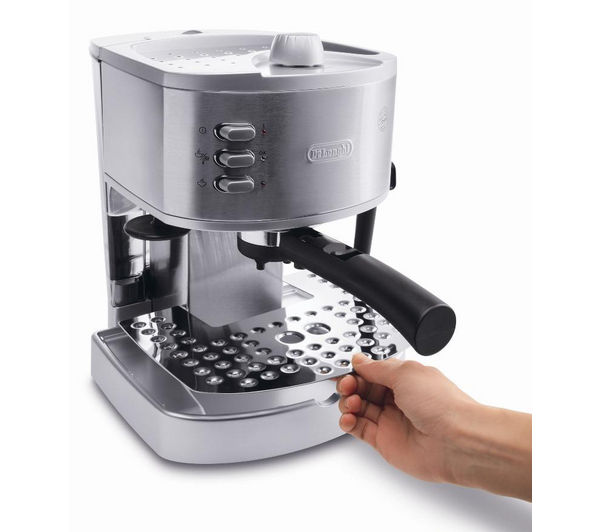 Delonghi Coffee Maker Stainless Steel Espresso : Espresso & capsule machines - Cheap Espresso & capsule machines Deals Currys